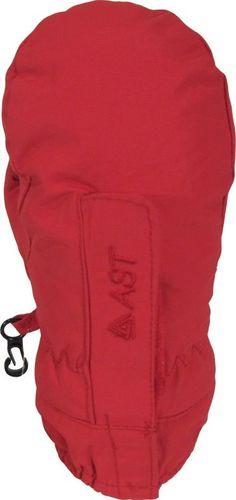 AST Rękawice narciarskie AST YC7K dziecięce : Kolor - Czerwony, Rozmiar - L