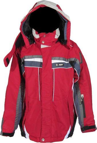AST Kurtka zimowa AST 1ACG Juniorska : Kolor - Czerwony, Rozmiary dziecięce - 158