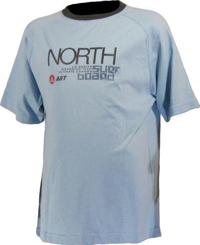 AST Koszulka AST North Jr dziecięca : Kolor - Niebieski, Rozmiary dziecięce - 152