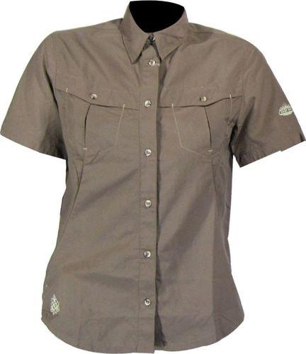 AST Koszula AST DT9L damska : Kolor - Brązowy, Rozmiar - S