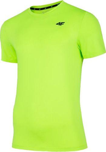 4f Koszulka męska NOSH4-TSMF002 zielona r. M