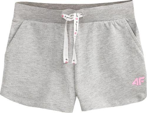 4f 4F Girl's Shorts HJL20-JSKDD001-25M szare 158