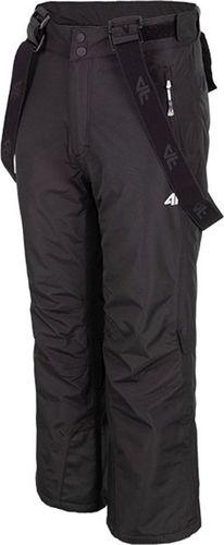 4f Spodnie narciarskie dla chłopca 4F czarne HJZ19 JSPMN001 21S 134cm