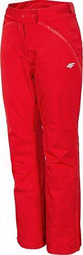 4f Spodnie narciarskie damskie 4F czerwone X4Z18 SPDN152 62S S
