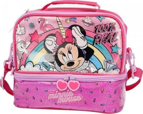 Minnie Mouse - Dwukomorowa torba termiczna uniwersalny