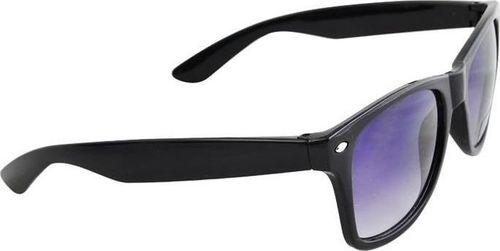 ISO Okulary przeciwsłoneczne stylowe ciemne czarne uniwersalny