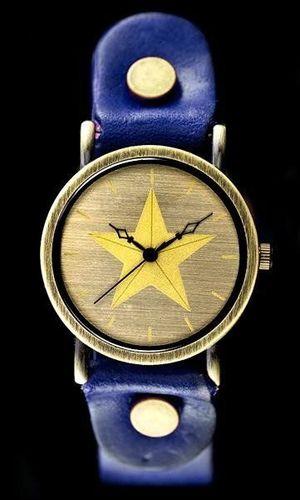 Zegarek ZEGAREK DAMSKI TAYMA - RETRO PUNK 27 -niebieski (zx583d) uniwersalny