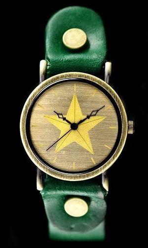 Zegarek ZEGAREK DAMSKI TAYMA - RETRO PUNK 27 -zielony (zx583c) uniwersalny