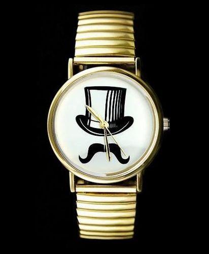 Zegarek ZEGAREK DAMSKI CYLINDER, WĄSY - asox (zx580c) uniwersalny