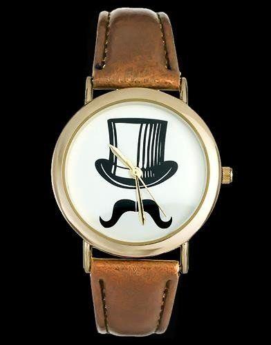 Zegarek ZEGAREK DAMSKI CYLINDER, WĄSY - asox (zx580a) uniwersalny