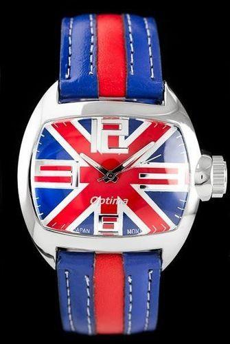 Zegarek ZEGAREK DAMSKI OPTIMA - BRITISH (zx614a) - HIT! uniwersalny