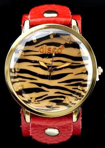 Zegarek ZEGAREK DAMSKI TAYMA - RETRO PUNK 6 (zx557c) - HIT! uniwersalny
