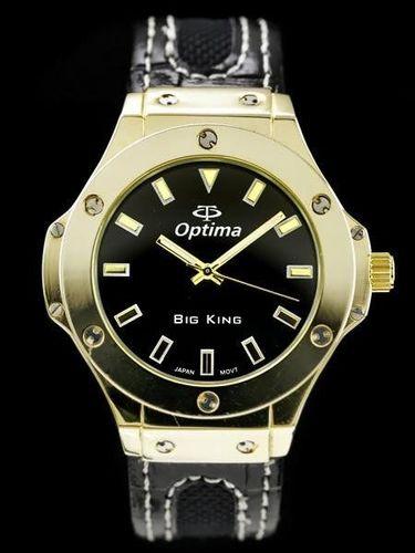 Zegarek ZEGAREK MĘSKI OPTIMA - HULBOT (zx606b) uniwersalny