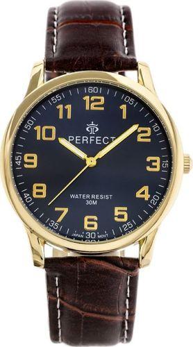 Zegarek Perfect ZEGAREK MĘSKI PERFECT KLASYKA (zp253i) uniwersalny