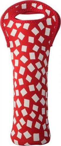 Built BUILT One Bottle Tote - Torebka termiczna na butelkę (Red Confetti) uniwersalny