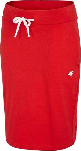 4f Spódnica 4F H4L20-SPUD010 62S H4L20-SPUD010 62S czerwony XS