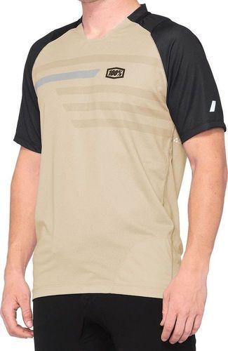 100% Koszulka męska 100% CELIUM Jersey krótki rękaw warm grey grey roz. M (NEW)