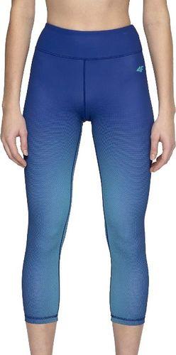 4f Legginsy damskie H4L20-SPDF008 niebieskie r. S