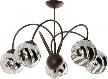 Lampa sufitowa Lampex Adelio 5 5x60W  (866/5)