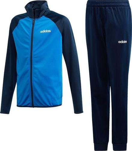 Adidas adidas JR Essentials Linear Tracksuit 744 : Rozmiar - 176 cm (DV1744) - 11755_167501