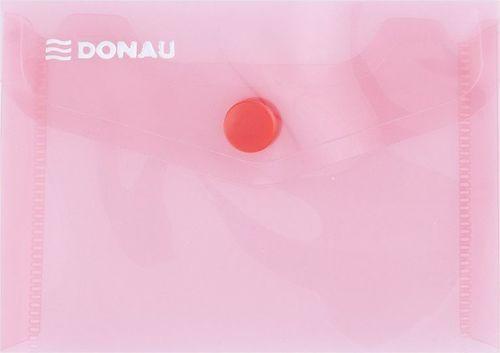 Donau Teczka kopertowa DONAU zatrzask, PP, A7, 180mikr., czerwona