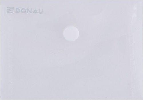 Donau Teczka kopertowa DONAU zatrzask, PP, A7, 180mikr., transparentna