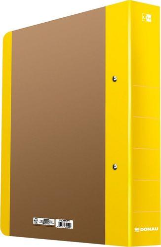 Segregator Donau Segregator ringowy DONAU Life, A4/2RD/50mm, żółty