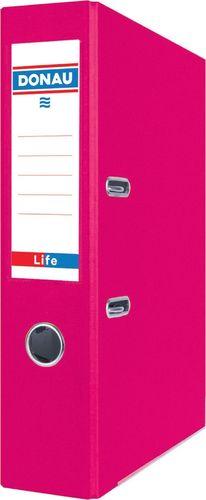 Segregator Donau Segregator DONAU Life, neon, A4/75mm, różowy