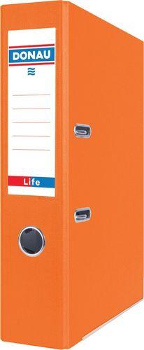 Segregator Donau Segregator DONAU Life, neon, A4/75mm, pomarańczowy