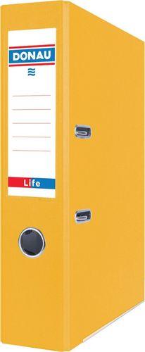 Segregator Donau Segregator DONAU Life, neon, A4/75mm, żółty