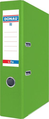 Segregator Donau Segregator DONAU Life, neon, A4/75mm, zielony