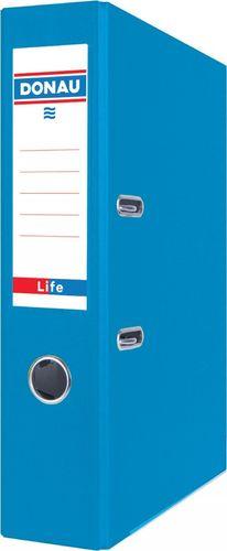 Segregator Donau Segregator DONAU Life, neon, A4/75mm, niebieski