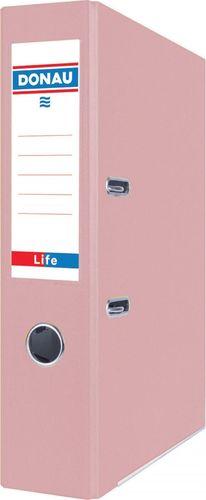 Segregator Donau Segregator DONAU Life, pastel, A4/75mm, różowy
