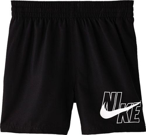 Nike Spodenki kąpielowe dla dzieci Nike Logo Solid Lap JUNIOR czarne NESSA771 001