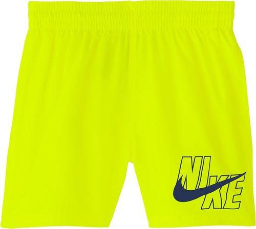 Nike Spodenki kąpielowe dla dzieci Nike Logo Solid Lap JUNIOR żółte NESSA771 731