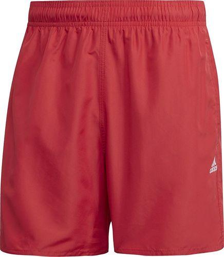 Adidas Spodenki męskie kąpielowe adidas Solid CLX SH SL czerwone FJ3380