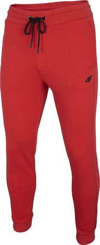 4f Spodnie męskie 4F czerwone NOSH4 SPMD001 62S