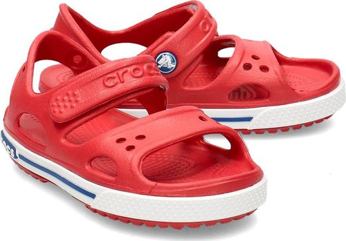 Crocs Crocs Crocband II - Sandały Dziecięce - 14854-6OE PEPPER/BLUE JEAN 25/26
