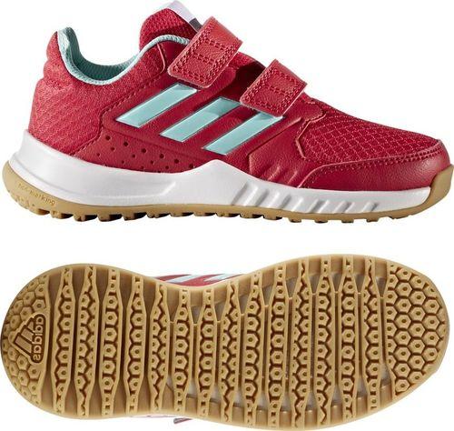 Adidas Buty dla dzieci adidas Forta Gym CF K czerwone CG2680