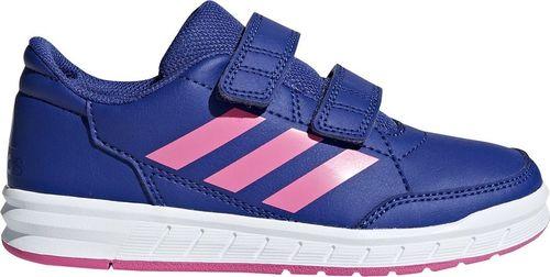 Adidas Buty dla dzieci adidas AltaSport CF K fioletowo różowe D96823