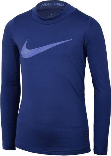 Nike Koszulka termoaktywna Warm Top junior AH0316-429 niebieska 122