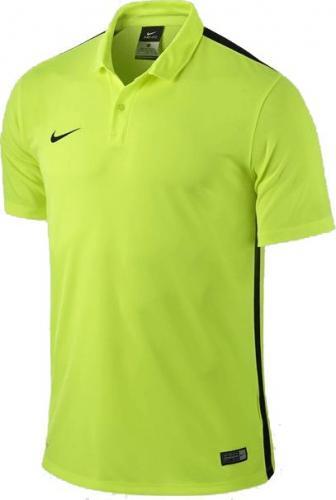 Nike Żółto-czarna koszulka polo Nike Challenge 644659-715 M