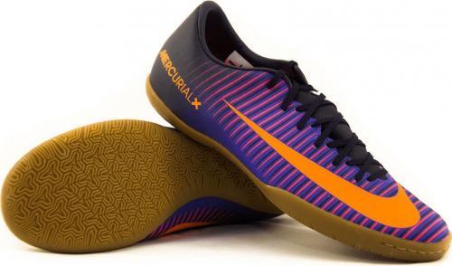 Nike Fioletowo-pomarańczowe buty piłkarskie Nike Mercurial Vapor IC 831947-585 JR 36,5