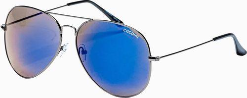 Ombre Okulary przeciwsłoneczne A278 - niebieskie uniwersalny