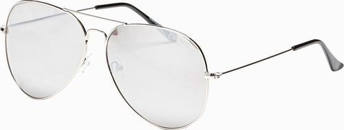 Ombre Okulary przeciwsłoneczne A278 - srebrne uniwersalny