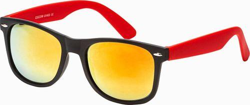Ombre Okulary przeciwsłoneczne A282 - czerwone uniwersalny