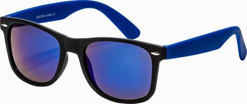 Ombre Okulary przeciwsłoneczne A282 - niebieskie uniwersalny
