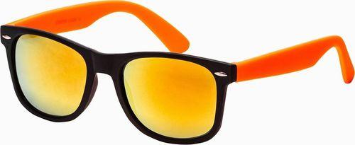 Ombre Okulary przeciwsłoneczne A282 - pomarańczowe uniwersalny