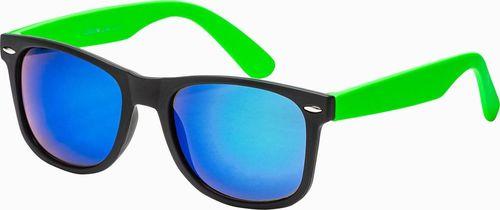 Ombre Okulary przeciwsłoneczne A282 - zielone uniwersalny