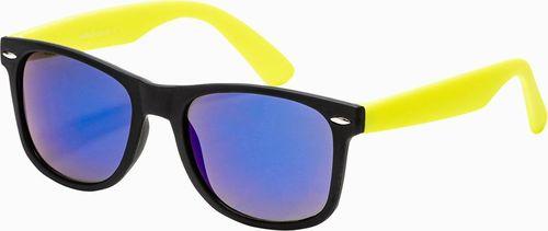 Ombre Okulary przeciwsłoneczne A282 - żółte uniwersalny